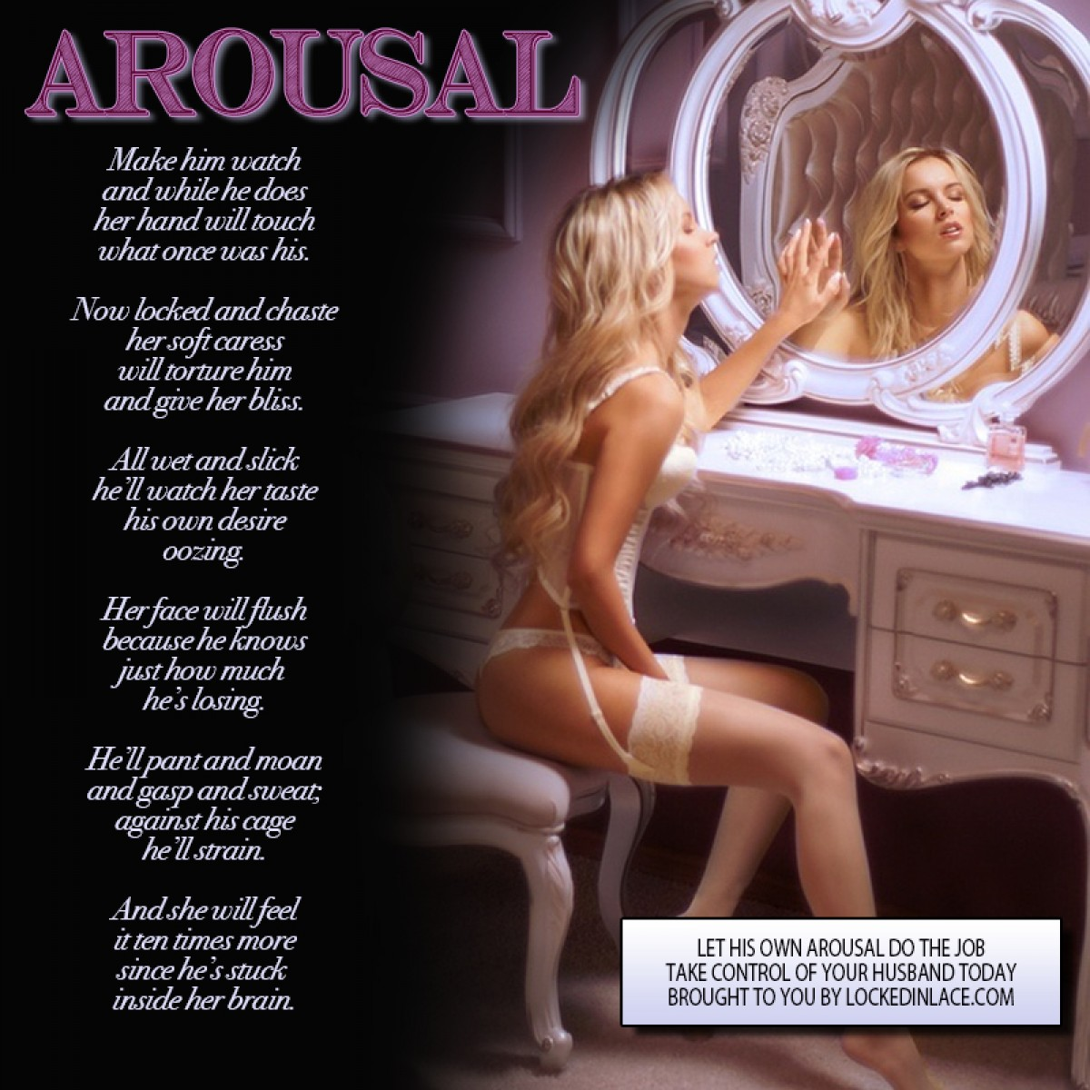 Arousal - Let His Own Arousal Do the Job