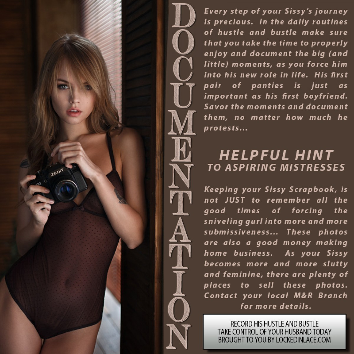 Documentation - Record his Hustle and Bustle