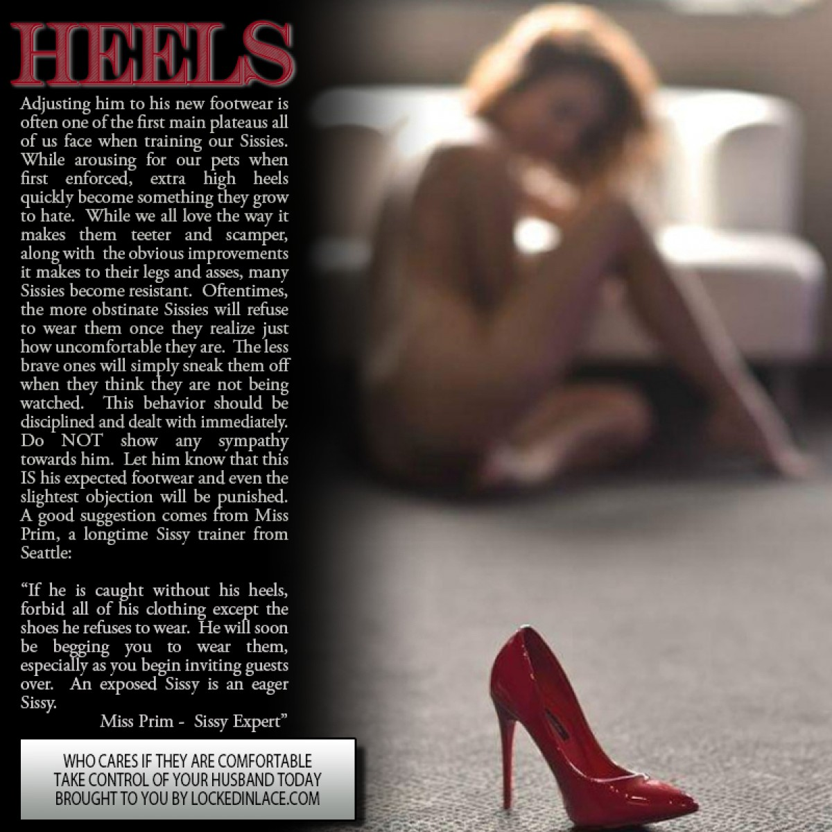 Heels- Who Cares if They're Comfortable