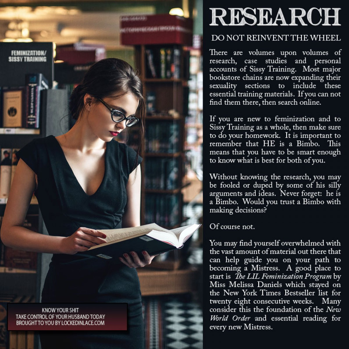 Research - Know Your Shit